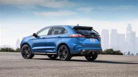 2019 Ford Edge St Debuts With 335 Hp 27liter Ecoboost V6