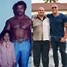 Throwback Photo Of Dwayne Johnson And His Father At Tender ...