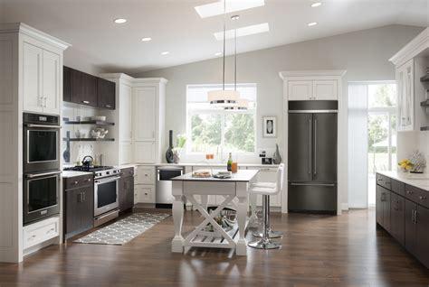 ready   kitchen revamp  black stainless steel