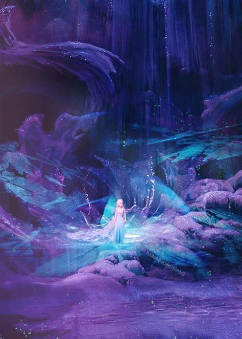 cool artworks inspired  disneys frozen snappy pixels