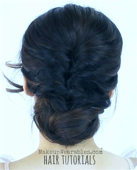 cute messy bun quick everyday updo hairstyles hair