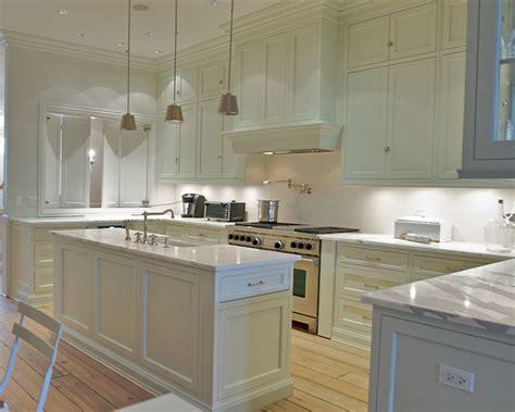 narrow kitchen island transitional kitchen leo
