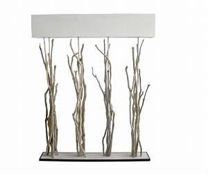 Lampe Haute Sur Pied : lampe haute bois flott lampe design ~ Teatrodelosmanantiales.com Idées de Décoration