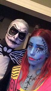 Jack Skellington and Sally / Halloween / Tim Burton ...