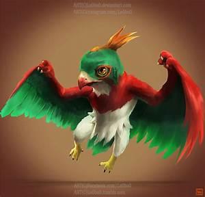 pokemon project 701 Hawlucha by Lo0bo0 on DeviantArt