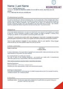 professional resume layout 2016 flawless resume exles 2016 2017 resume 2016 professional resume template 2016 jennywashere