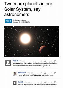 two new planets in our solar system : KenM
