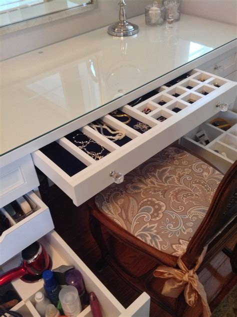 intelligent vanity organization ideas   inspiration