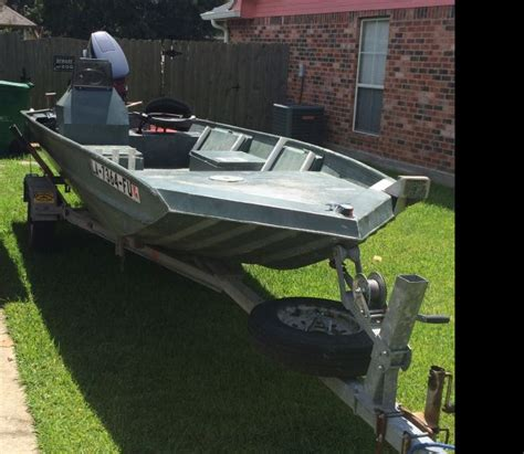 Weldbilt Boats For Sale In Louisiana by 2005 Weldbilt 1648v Flat Jon Boat For Sale In Baton