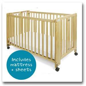 foundations 1011 hideaway folding size crib with 4 20 most recent l a baby gliding wood cradle questions