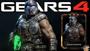 Gears Of War 4 QuotClayton Carminequot Character Multiplayer