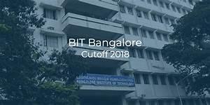 Bit Bangalore Cutoff 2018