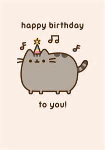pusheen cat birthday the gallery for gt pusheen cat birthday