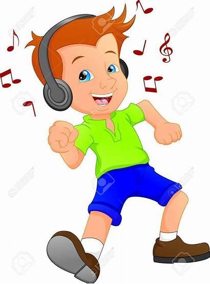 Musica Muziek Tanz Het Musik Cartoon Luisteren