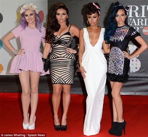 Brit Awards 2013 red carpet: Little Mix swap ripped jeans ...