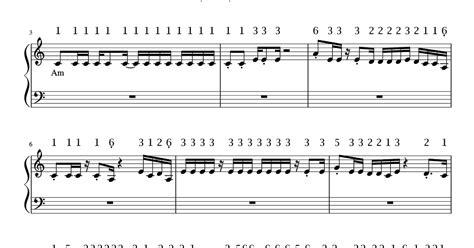 not angka pianika lagu kesempurnaan cinta not angka pianika lagu shape of you ed sheeran
