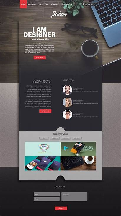 Web Webpage Creative Website Layout Template Templates