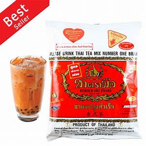 Original Thailand Tea Mix Number One Brand HOT or COLD ...