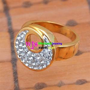 stainless steel god wedding ring with shining stones both With wedding rings for both man and woman