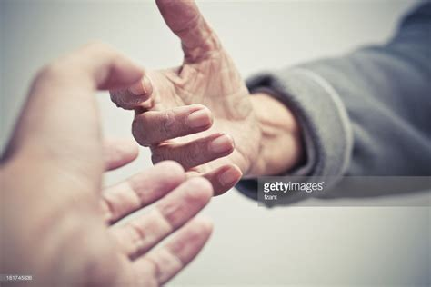 Give Me Your Hand Stock Photo