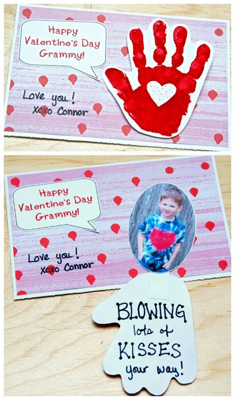 Pretty and easy valentine card envelope sleeves to make with kids. 10 adorable DIY Valentine's Day cards to make with your kids