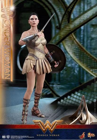 Wonder Woman Toys Armor Training Scale Figure