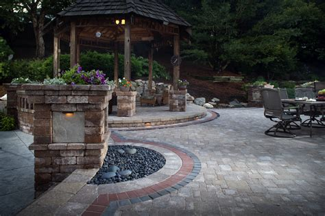 landscape paving stones create a park like landscape using artificial grass pavers install it direct