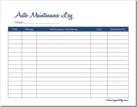 Auto Maintenance Schedule Spreadsheet by Believing Boldly Auto Maintenance Log Free Printable
