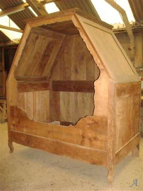 chambre lit lit baldaquin ancien en merisier artisans du patrimoine