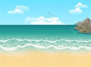 Beach Illustration, HD Artist, 4k Wallpapers, Images ...