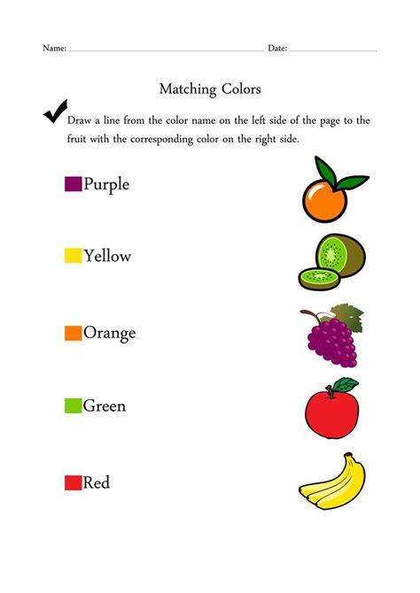 color activities  kindergarten  color recognition