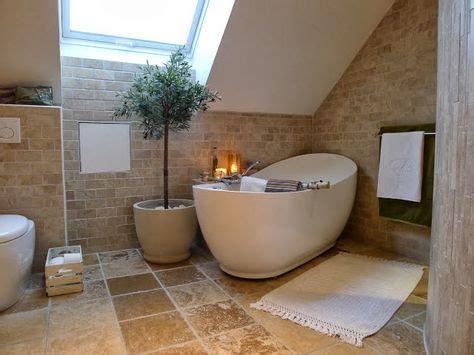 Kleine Badezimmer Mit Freistehender Badewanne by Mediterranes Badezimmer Mit Freistehender Badewanne