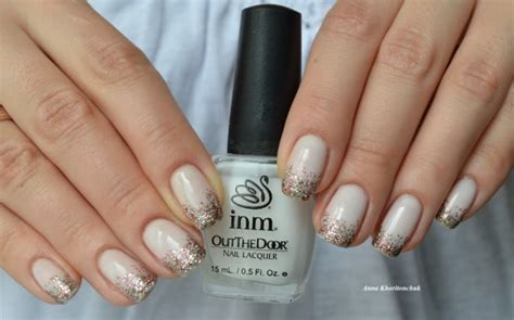 out the door nail inm out the door nail lacquer 191 gently white и