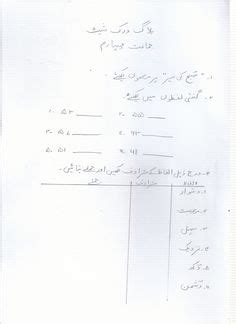 urdu grammer images worksheets worksheets