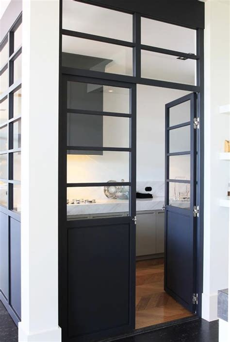 Half Glass Kitchen Cabinet Door