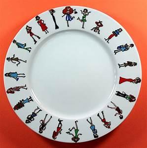 Assiette Plate Originale : assiettes dessert originales ~ Teatrodelosmanantiales.com Idées de Décoration