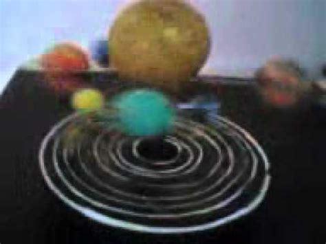 maqueta del sistema planetario solar kermyt johann katherine karl weiss 2011 youtube
