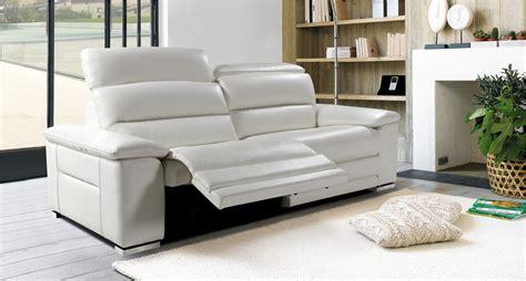 h et h canapé canapé mistral 3 places 2 relaxations électriques toulon