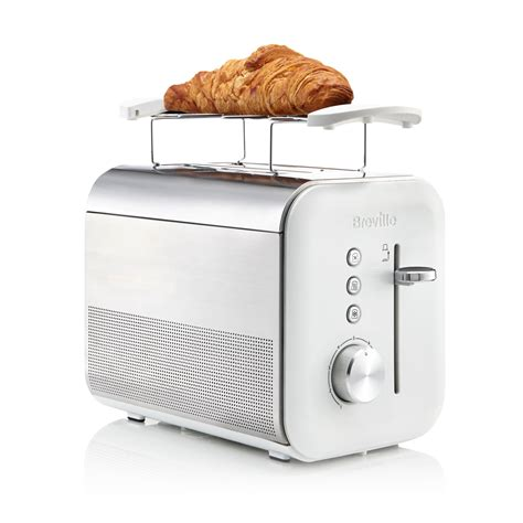 White Toaster by White High Gloss Collection 2 Slice Toaster Vtt686