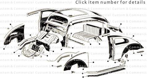 Vw Beetle Beetle Body Repair Panels Wings & Floor Pans