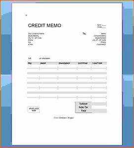 a credit memo is a document thatreference letters words With credit note template doc