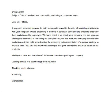 31+ Sample Business Proposal Letters