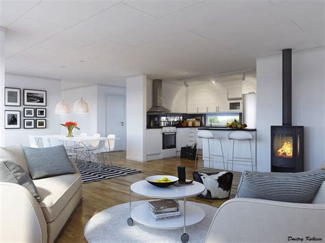 cuisine ouvert sur salon 15 beautiful living rooms that we came across recently