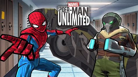 spider man unlimited  vultures prey homecoming
