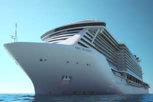 Seaside Cruise Ship MSC