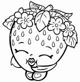 Coloring Shopkins Pages sketch template