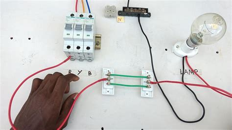 two way switch connection type 1 electrical in tamil two way switch wiring diagram