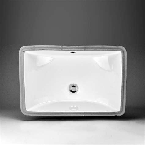 rectangle undermount kitchen sink acri tec neptune ceramic rectangular undermount sink basin 4540