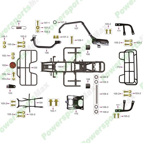 2007 Coolster Atv Wiring Diagram by Coolster Atvs Parts