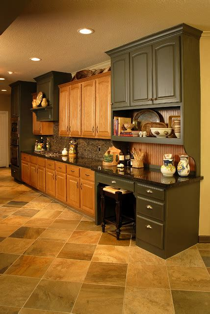 kitchen remodel  existing oak cabinets traditional
